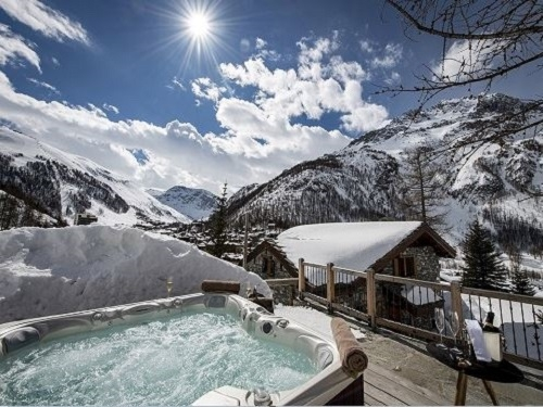 luxury chalets val disere